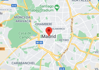 Madrid virtual office location virtual address location Spain