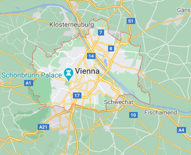 Vienna virtual office location virtual address location Austria