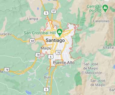 chile virtual office location virtual address location santiago