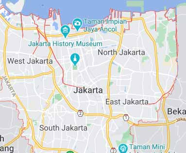 Indonesia virtual office location virtual address location jakarta