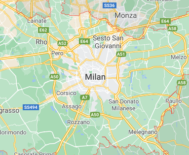 Milan virtual office location virtual address location Italy