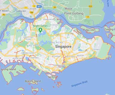 Singapore virtual office location virtual address location SG