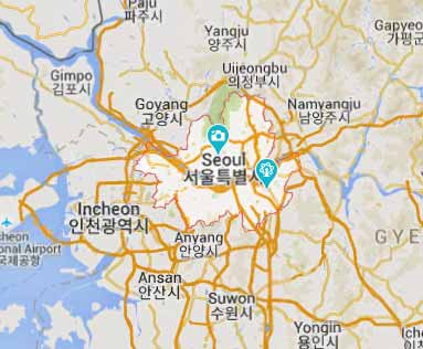 South Korea virtual office location virtual address location seoul