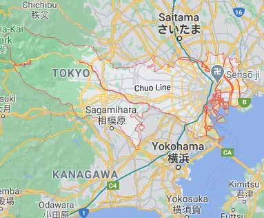Tokyo virtual office location virtual address location tokyo