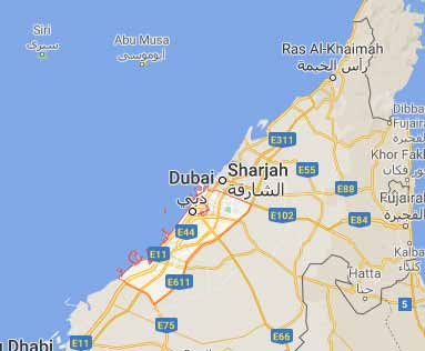 UAE virtual office location virtual address location Dubai